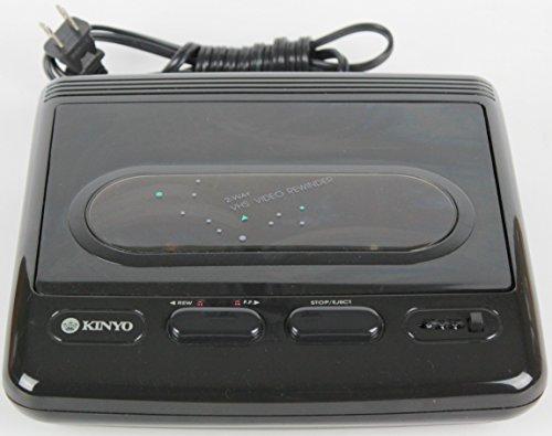 Kinyo Video Cassette Rewinder VHS Video Rewinder Video Equipment Date Code: 0295 Ac117v 5w 60hz No. 147508 Ul Listed 80k5 Kinyo M./no. 113658