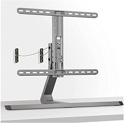 WXHHH Base de Soporte de TV para TV de 37'- 75' Alturas Ajustables Pedestal de Mesa Giratorio Soporte de TV Soporte para 40 kg (Color: A)