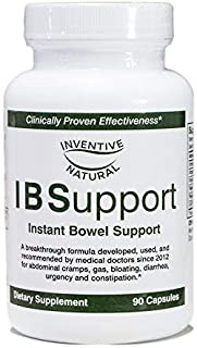 IBSupport: the IBS Breakthrough Formula for Relief and Support of Irritable Bowel Syndrome, 90 Capsules