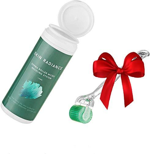 Skin Radiance Derma Roller 0.5mm, 1.0mm, 1.5mm - Dermaroller Professionale...