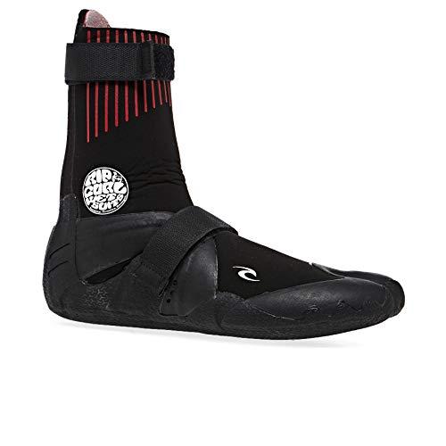 RIP CURL Flashbomb 3mm Narrow Hidden Split Toe Wetsuit Boots WBOYAF - Black Footwear - 8