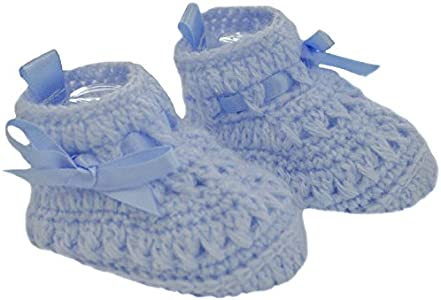 Soft Touch - Par de zapatos para bebé recién nacido, color azul