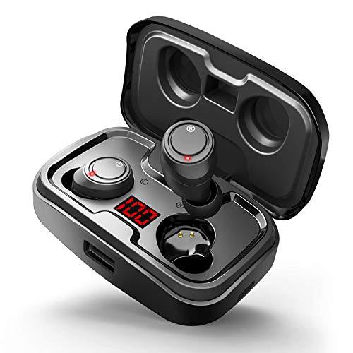 Auriculares Bluetooth 5.0 Inalámbricos Auriculares con Micrófono HD Noise Cancelling CVC8.0 para...
