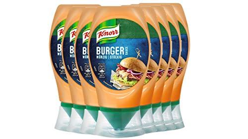 Knorr Grillsauce Chili Burger Soße 250 ml (8 x 250 ml)