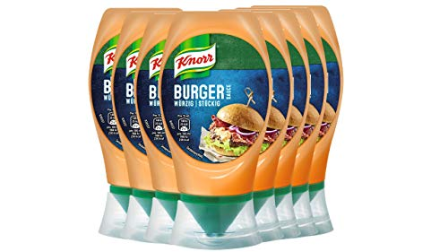 Knorr Grillsauce Chili Burger Soße 250 ml (8 x 250 ml)