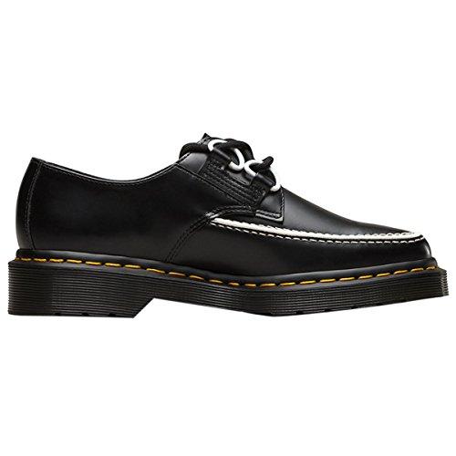 Dr.Martens Womens Belladonna Creeper Black White Leather Shoes 37 EU