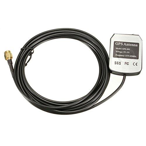 MOMOALA AAlamor 3M GPS Antenne Câble Voiture Auto Lecteur DVD Connecteur D'Antenne SMA 1575.42 MHz