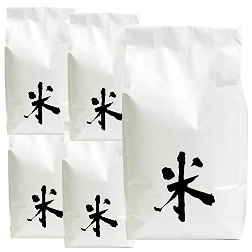 無洗米 無農薬米 岩船産コシヒカリ(アイガモ農法) 25kg(5kg×5袋)