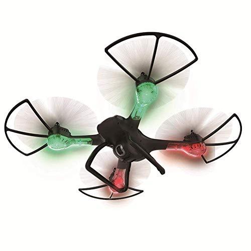 WANNA.ME Drone FPV RC con 360 Gradi Telecamera HD WiFi 720P HD grandangolare Regolabile Surround Video e GPS Ritorno a casa Quadricottero - Segui Drone, Lunga Distanza di Controllo