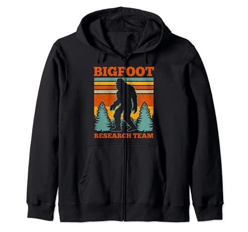 Bigfoot Equipo de Investigación Bigfoot Sasquatch Funny Bigfoot Sudadera con Capucha