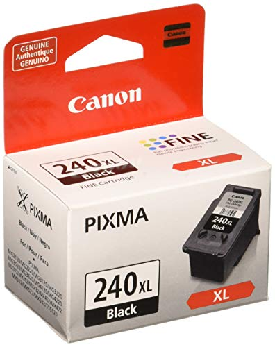 Canon PG-240 XL Black Ink Catridge Compatible to MG2120, MG3120, MG4120, MX512, MX432, MX372, MX522, MX452, MG3520, MG3620, MX472, MX532, TS5120