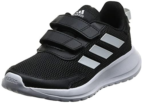 adidas Tensaur Run, Road Running Shoe Unisex niños, Core Black/Cloud White/Core Black, 28 EU