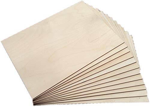 Laserply Baltic Birch Plywood A4 Sheet 50 Pack
