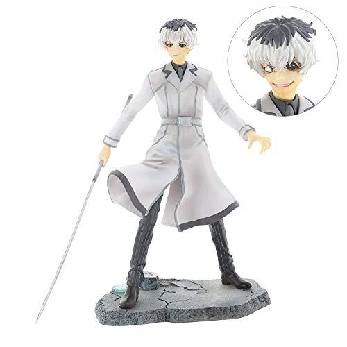 ALTcompluser Anime Tokyo Ghoul Sasaki Haise/Ken Kaneki PVC Figur Statue Actionfigur Sammelfigur, Geschenk für Anime Fans