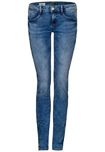 Street One Damen 372806 Crissi Casual Fit Slim Jeans, Blau (Mid Blue Washed 12190), W29/L32 (Herstellergröße: 29)