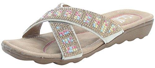 Emma Shoes , Mules femme - Beige - beige, 35.5