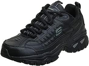 Skechers mens Energy Afterburn road running shoes, Black,12 medium
