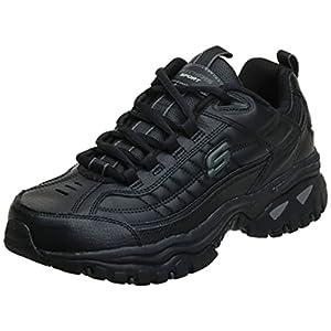 Skechers mens Energy Afterburn road running shoes, Black,9.5 medium