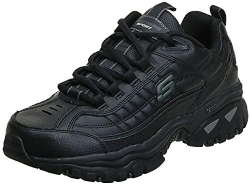 Skechers mens After Burn road running shoes, Black, 16 US