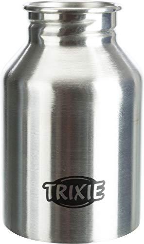 Trixie 24605 Flasche mit Trinknapf, Edelstahl/Kunststoff, 300 ml - 10