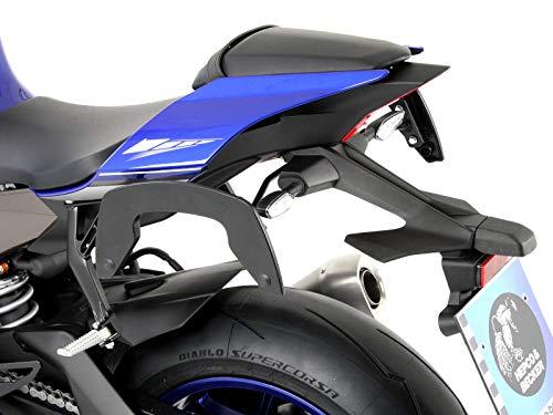 Hepco&Becker C-Bow - Soporte Lateral para Yamaha YZF-R1 / M, Color Negro