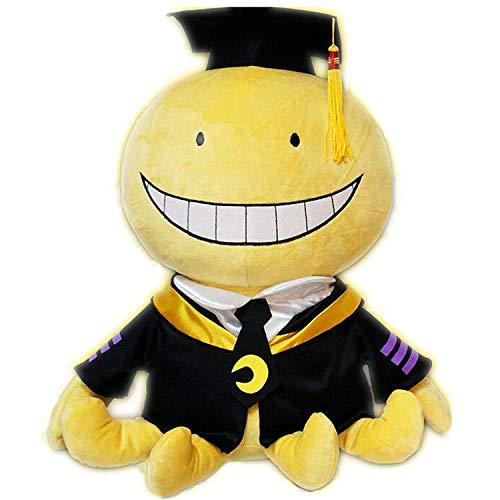 Blackflame Korosensei Plüschtier Classroom Kuscheltier Plüsch Anime Figur (mit Körper 45cm)