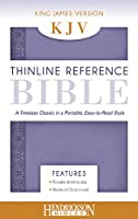 The Holy Bible: King James Version, Lilac Flexisoft, Leather, Thinline Reference Bible