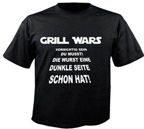 Herren T-Shirt Motiv 2945 Farbe Schwarz Größe 4XL