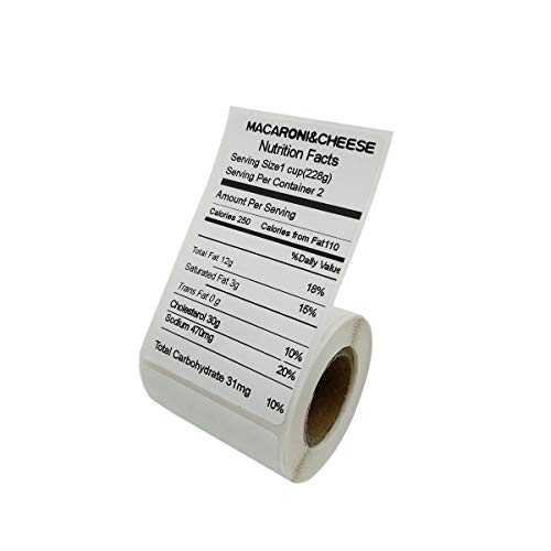 5 Rolls/lot Thermisch drukpapier voor Thermische Printer Barcode Sticker/Label/Adhensive Thermal Type