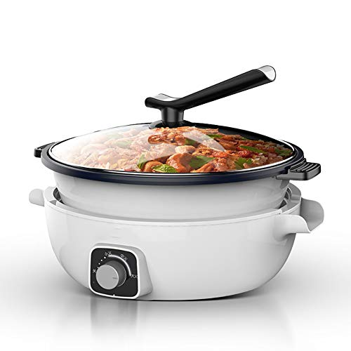 Review Of Electric Cooker Split Type Aluminum Alloy Multi-Purpose Household Non-Stick Hot Pot Support Fried Steak Fish Hotpot Cooker