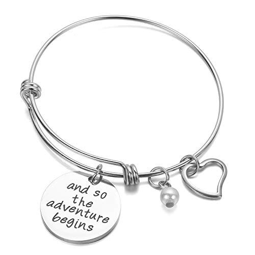 Anson & Hailey Bracciale Charm Best Friends e bracciale ispirato Braccialetti con braccialetti Regolabili, Regali per amicizia, Gioielli da regalo per sorella