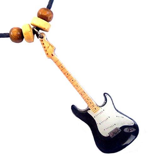 Collar con colgante forma guitarra Fender Stratocaster Eric Clapton