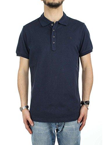 Diesel Men's THeal Polo Shirt 44 inch Blue