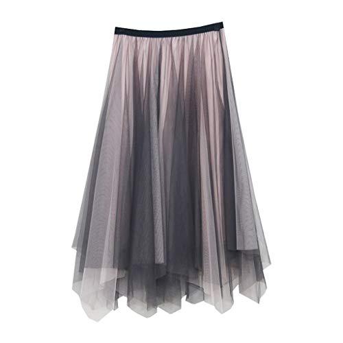 duquanxinquan Petticoat Damen Vintage Pettiskirt Gaze Unterrock Tütü Crinoline Minirock Bubble Tutu Kostüm für Business Hochzeit Freizeit Party
