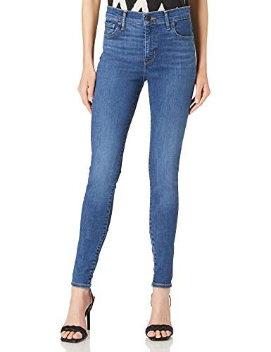 Levi's Womens 720 Hirise Super Skinny Jeans, Echo Cloud, 24W / 32L