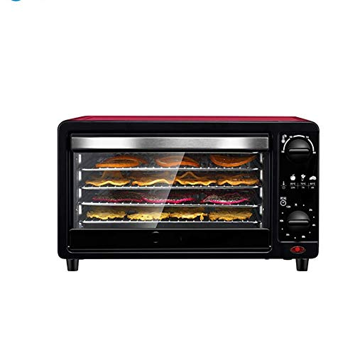 Buy Food dryer Professional Food Dehydrator Fruit Dryer Cooking Oven 5 Layer Adjustable Mesh Rack Er...