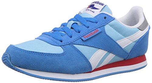 Reebok Royal Classic Jogger, Damen Laufschuhe, Blau (Energyblue/Bluepool/Wht/Matteslvr/Red Rush), EU 38.5 (UK 5.5 / US 8)