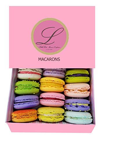 Leilalove Macarons Assortment in Keepsake Box
