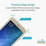 Wei Hongyu - Accesorios móviles para Xiaomi Mi Max 2, 0,3 mm, dureza 9H, 2.5D, a prueba de explosiones, película de vidrio templado (dorado) (color: dorado)
