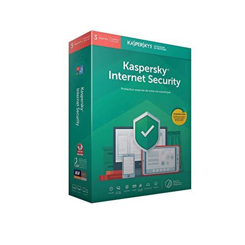 Kaspersky Internet Security 2019 (3 Postes / 1 An)