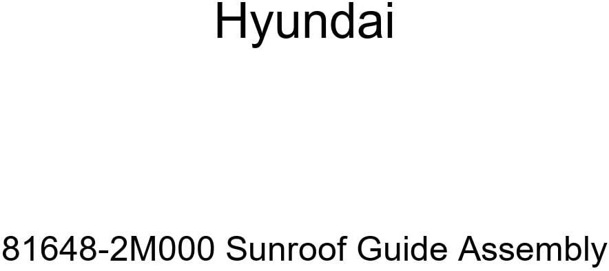 Hyundai List price 81648-2M000 Cash special price Sunroof Guide Assembly