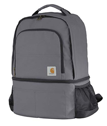 Carhartt 2-in-1 Insulated Cooler Backpack, Grey