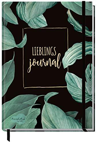 Bullet Journal dotted A5 mit Gummiband [Lieblingsjournal] 156 Seiten | Notizbuch gepunktet, Tagebuch von Trendstuff by Häfft | nachhaltig & klimaneutral