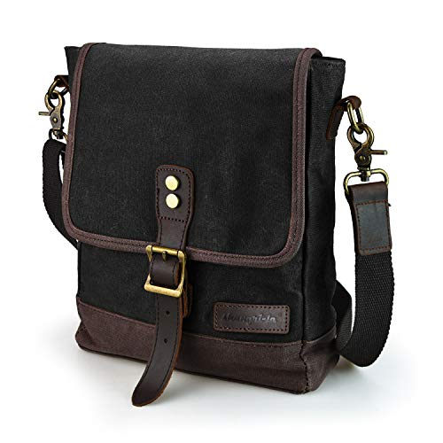 SHANGRI-LA Herrentasche Tasche Umhängetasche IPAD Schultertasche Rucksack Crossbody Sling Messenger Bags Reisetasche für Frauen und Männer Arbeit Reise Alltagsleben