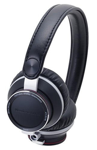 Buy Audio Technica ATHRE700 BK On-Ear Headphones, Black