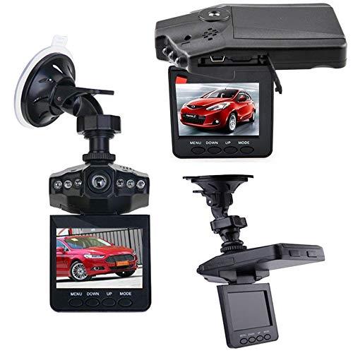 AZLMJXH 2,4-Zoll-Auto-DVR Videogerät, LED-1080P HD Nachtsicht-Auto-Videogerät 270 Grad Drehbarer Driving Recorder