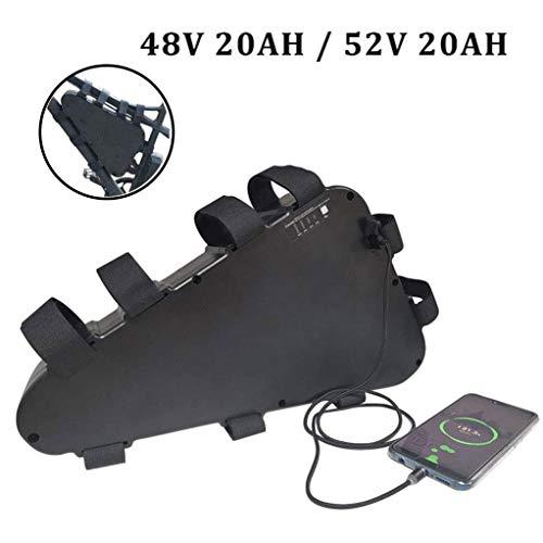Triángulo E-Bici 48V de la batería con el cargador, celular recargable de...