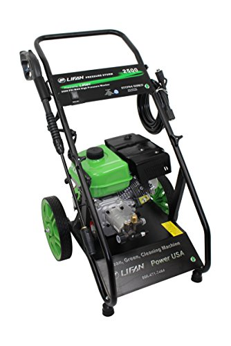 Lifan LFQ2565E Electric Start Pressure Washer, 2500 PSI