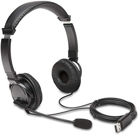 Kensington USB Hi Fi Headphones with Microphone K97601WW product image