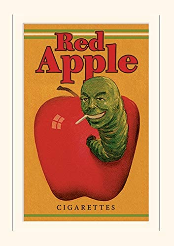 Pyramid International Pulp Fiction Red Apple Cigarettes Mounted Print Memorabilia 30 x 40cm product image